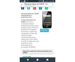 Vendo Samsung Ace S5830 en 40