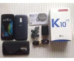 LG K10 LTE NUEVO estado 10 de 10 para LIBERADO , en su caja con manuales