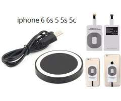 En venta cargadores qi, kit completo de carga inalambrica de iphone