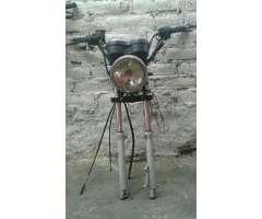 Vendo para Moto Barras con Frente Coplto