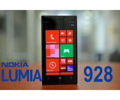 10 de 10 NOKIA LUMIA 928 cero fallas, liberado 4G a toda red. windows 8.1, solo $100 neg. 32 GB