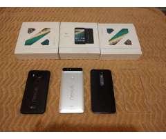 Motorola G4, Lg Nexus 5x Y 6p, Moto X3