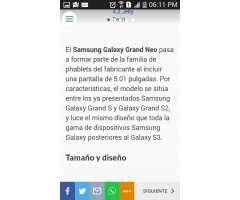 Samsung Galaxy Gran Neon Plus