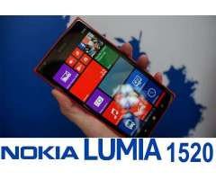 NOKIA LUMIA 1520 COMO NUEVO. 6 PULGADAS LIBERADO 4G LTE. 2 DE RAM WINDOWS 8.1
