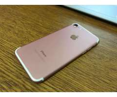 OFERTA IPHONE 7 DE 32GB ROSADO ROSE TIGO 450 FIJOS