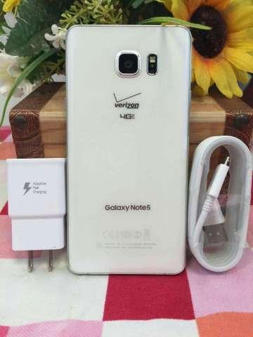 Vendo Galaxy Note 5 10/10 Blanca Liberad