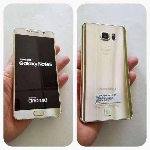 Vendo Samsung Note 5 Gold