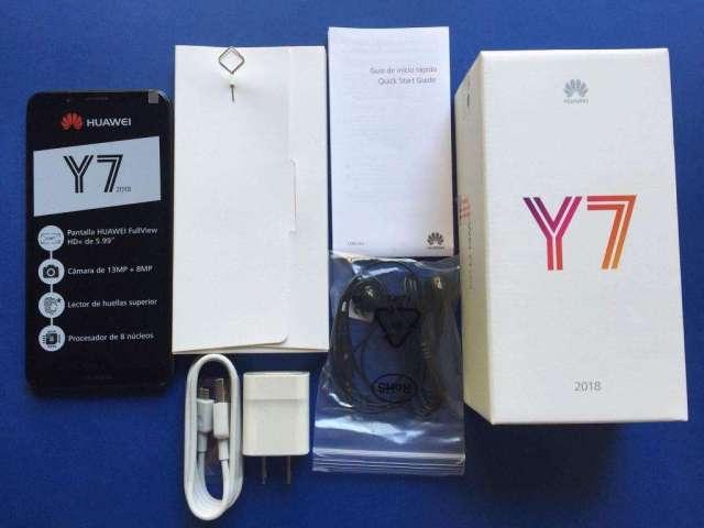 Huawei y7 nuevo en caja