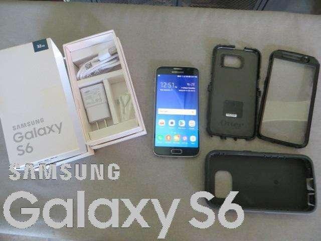 NUEVO EN CAJA, SAMSUNG GALAXY S6 FLAT LIBERADO. 3 GB DE RAM, CON PROTECTOR OTTER SOLO TRATOS SERIOS