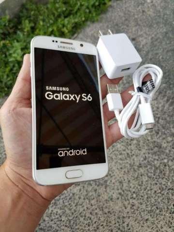 Samsung Galaxy S6 Flat Blanco