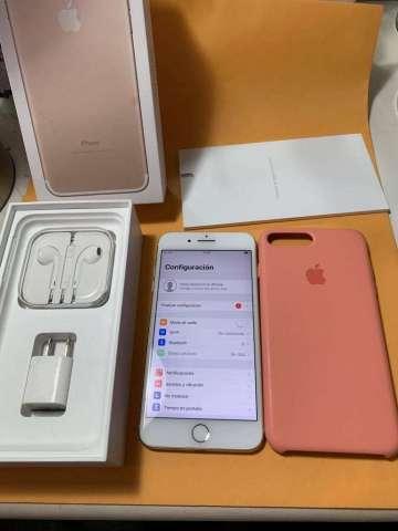Iphone 7 plus Gold. de 128 gb, Liberado de Fabrica. SIn ningun rayon. Unica dueña!&...