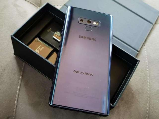 Samsung Note 9 Ocean Blue de 128GB ¡NITIDA!