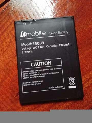 Batería Bmobile Modelo E5009 Excelente C