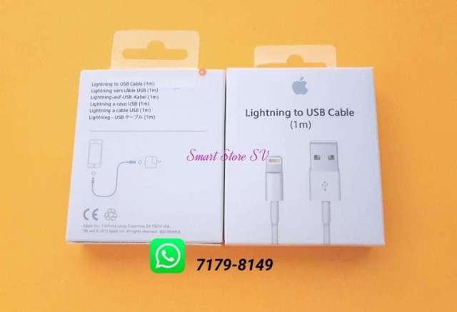 Cables Lightning para Apple Iphone, Ipod y Ipad, Desde 5, 6, 7, 8 y X