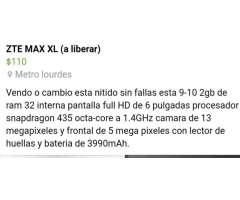 Zte Max Xl (a Liberar)