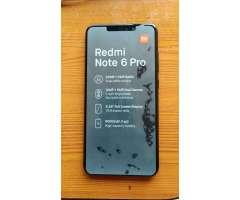 Vendo para Ya. Xiaomi Redmi Note 6 Pro
