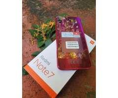 Xiaomi Redmi Note7 Color Nebula Red 64gb