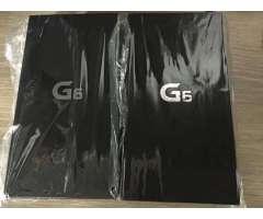 Con garantía. LG G6 NUEVOS SELLADOS NUNCA ABIERTO