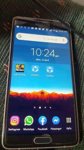 Vendo o cambio Samsung note 4 con detalle $100 negociable