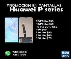 Pantallas Huawei P Series