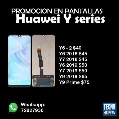 Pantallas Huawei Y Serie