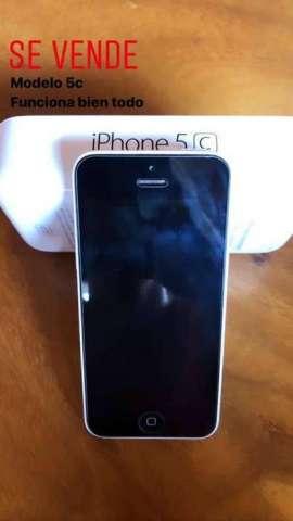 Iphone 5c excelente estado, se vende cómodo