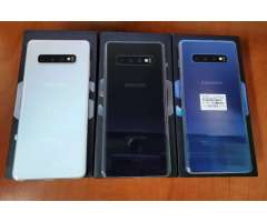 Samsung Galaxy S10 Plus Prism Blue de 128GB Â¡10/10!