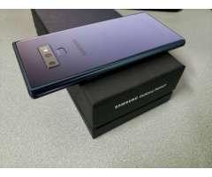 Samsung Galaxy Note 9 Ocean Blue Â¡NITIDA!